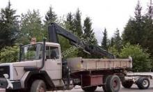 camión volquete Magirus usado