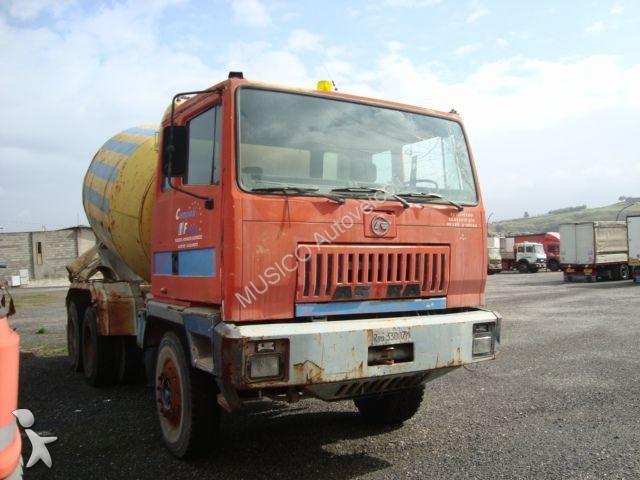 Camion astra b ton toupie malaxeur occasion n 1102590 - Camion toupie beton ...