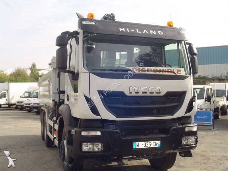 New Iveco Trakker two-way side tipper truck AD 260 T 41