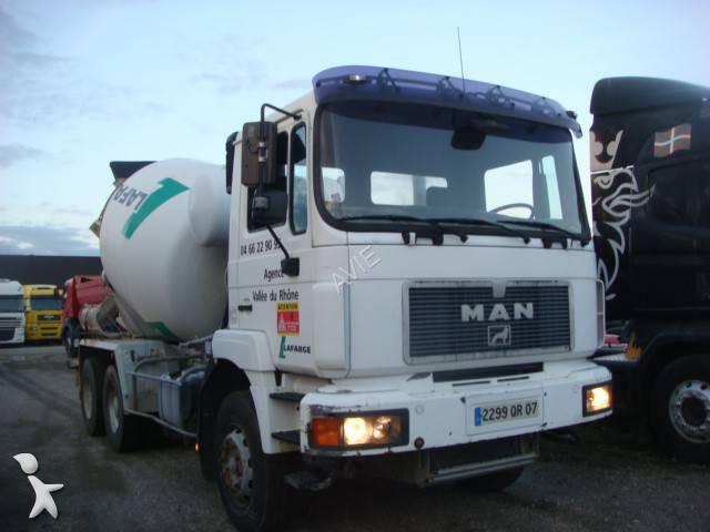 camion man b ton toupie malaxeur gazoil euro 2 occasion n 1142946. Black Bedroom Furniture Sets. Home Design Ideas