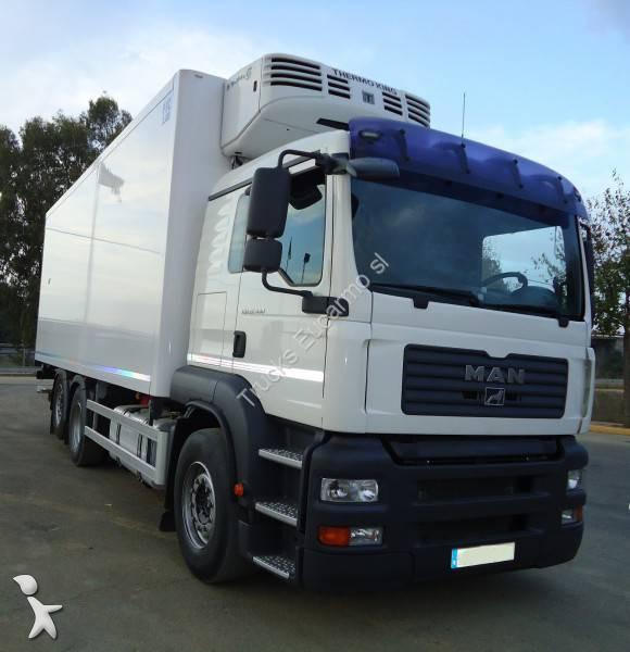 camion man frigo thermoking tga 6x2 gazoil euro 4 hayon occasion n 1182620. Black Bedroom Furniture Sets. Home Design Ideas