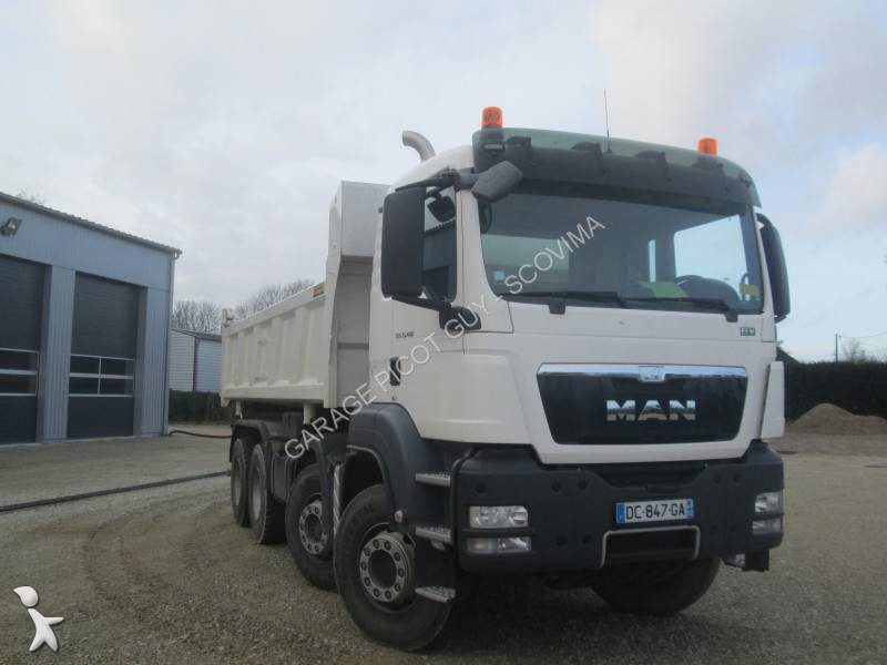 Location camion man bi benne tgs 8x4 euro 6 occasion n 1204624 - Location camion benne ...