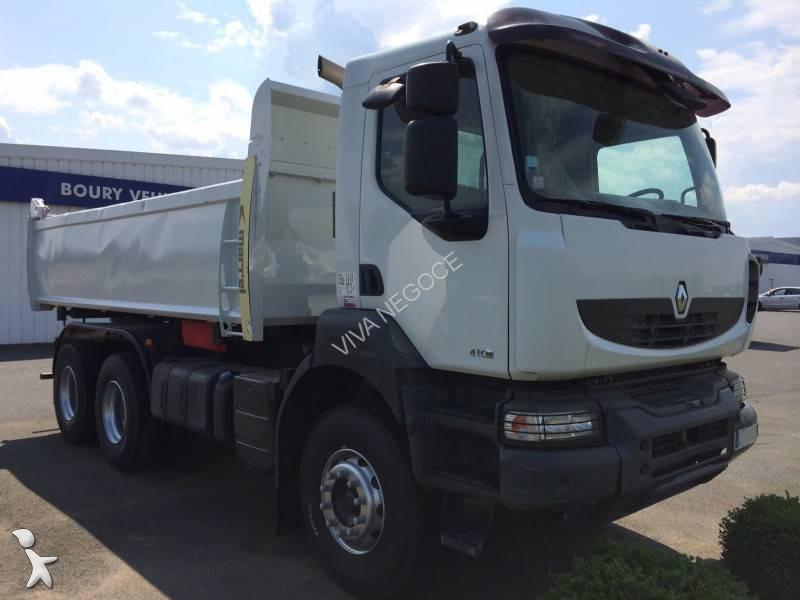 Camion renault bi benne marrel kerax 410 dxi 6x4 gazoil for Porte universelle benne