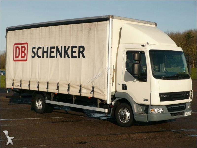 camion daf savoyarde lf45 7 5 tonne curtainsider 2011 de11 fxg occasion n 1211443. Black Bedroom Furniture Sets. Home Design Ideas