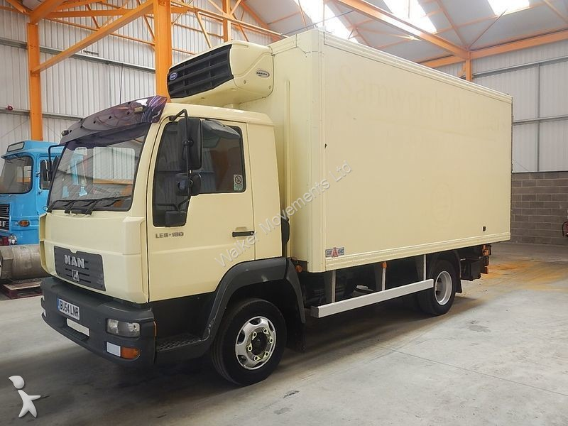 camion frigo occasion man nc le 7 5 tonne insulated fridge freezer 2005 bu54 lnr. Black Bedroom Furniture Sets. Home Design Ideas