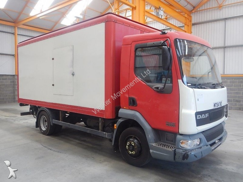 camion daf fourgon lf45 7 5 tonne box 2005 mt54 thz 6x4 occasion n 1294649. Black Bedroom Furniture Sets. Home Design Ideas