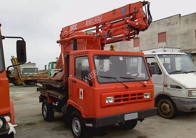 Camion nc piattaforma aerea nc usato n 1295966 - Portata massima camion italia ...