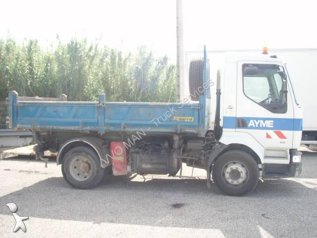 Camion renault benne marrel midlum 210 4x2 euro 2 occasion n 1346463 - Garage renault cavaillon ...