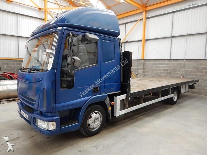 camion iveco plateau standard eurocargo 75e180 7 5 tonne flatbed 2006 vu06 vdg 6x4. Black Bedroom Furniture Sets. Home Design Ideas