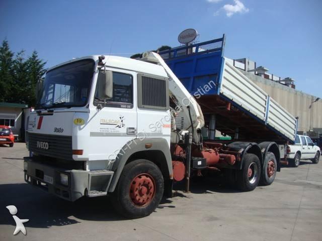 Camion iveco ribaltabile benalu trilaterale 6x2 - Portata massima camion italia ...