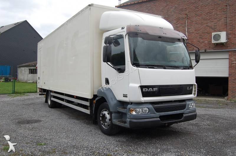 camion daf fourgon d m nagement lf55 180 4x2 gazoil euro 3 occasion n 1426693. Black Bedroom Furniture Sets. Home Design Ideas