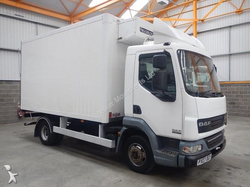 camion daf frigo lf45 7 5 tonne fridge freezer 2007 px07 dgy occasion n 1428924. Black Bedroom Furniture Sets. Home Design Ideas