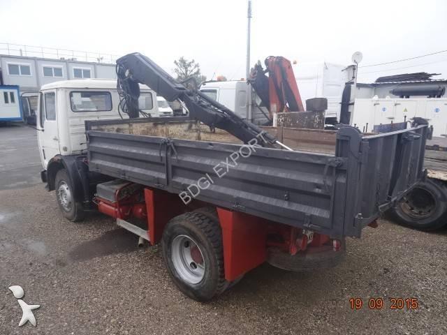 camion benne occasion mercedes 1922 gazoil annonce n 1432408. Black Bedroom Furniture Sets. Home Design Ideas