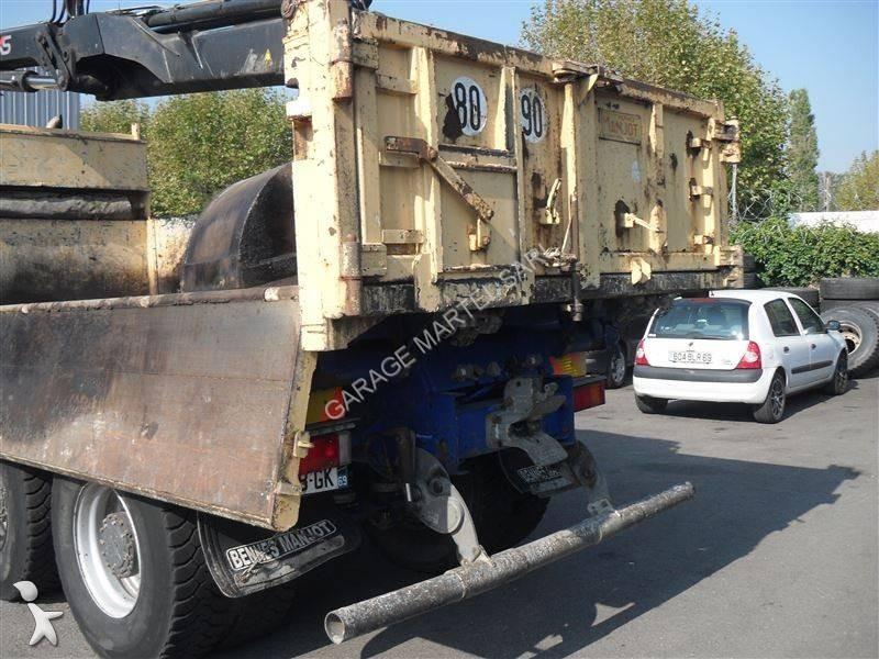 Camion daf tri benne cf85 fat 460 6x4 euro 4 grue occasion for Garage martel grigny