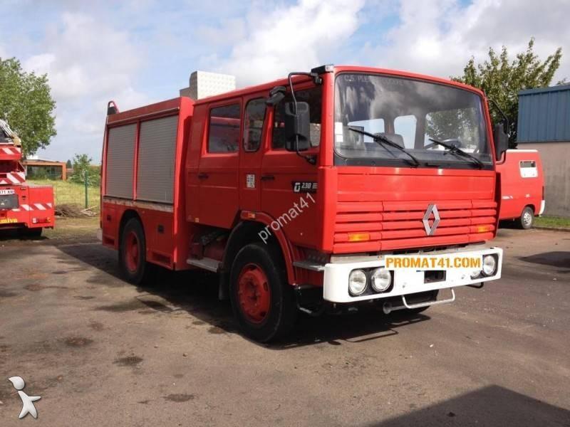 camion renault fourgon pompe tonne secours routier gamme g 230 4x2 gazoil occasion n 1496670. Black Bedroom Furniture Sets. Home Design Ideas