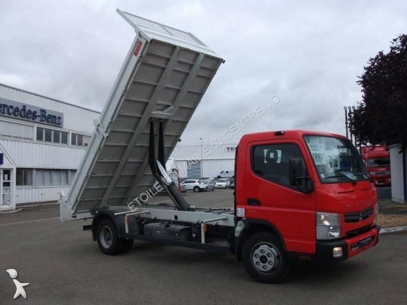 Camion mitsubishi fuso benne canter 7c15 4x2 gazoil euro 5 for Porte universelle benne