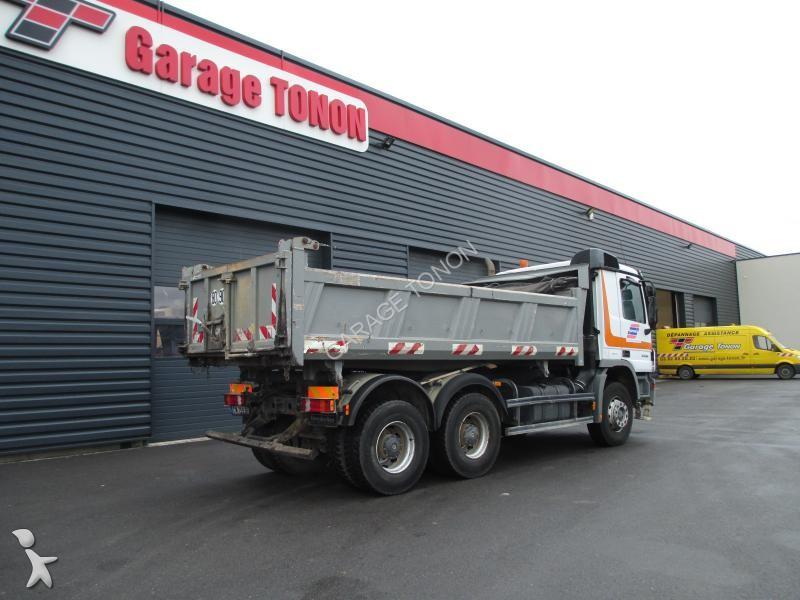 Camion mercedes ribaltabile meiller bilaterale actros 3336 for Garage julien pizancon occasion