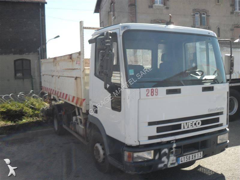camion iveco benne eurocargo 75e12 4x2 euro 2 occasion n 1522320. Black Bedroom Furniture Sets. Home Design Ideas