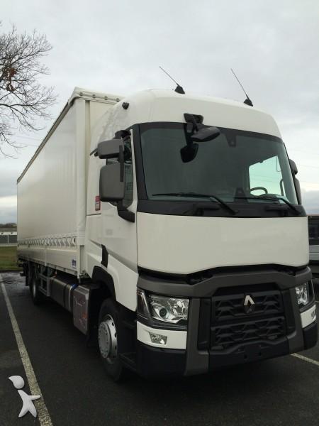 Camion renault rideaux coulissants plsc gamme t 430 dxi for Interieur camion renault t