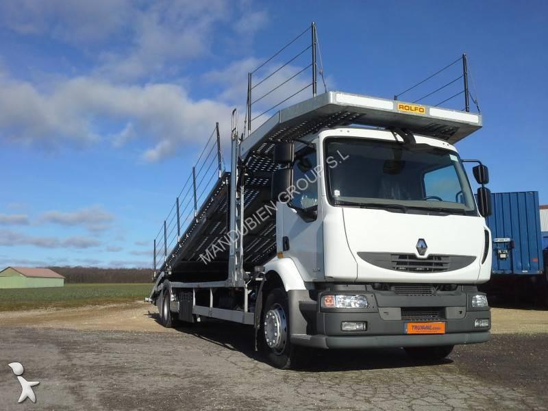 camion renault porte voitures premium 300 dxi 4x2 gazoil euro 5 occasion n 1560893. Black Bedroom Furniture Sets. Home Design Ideas