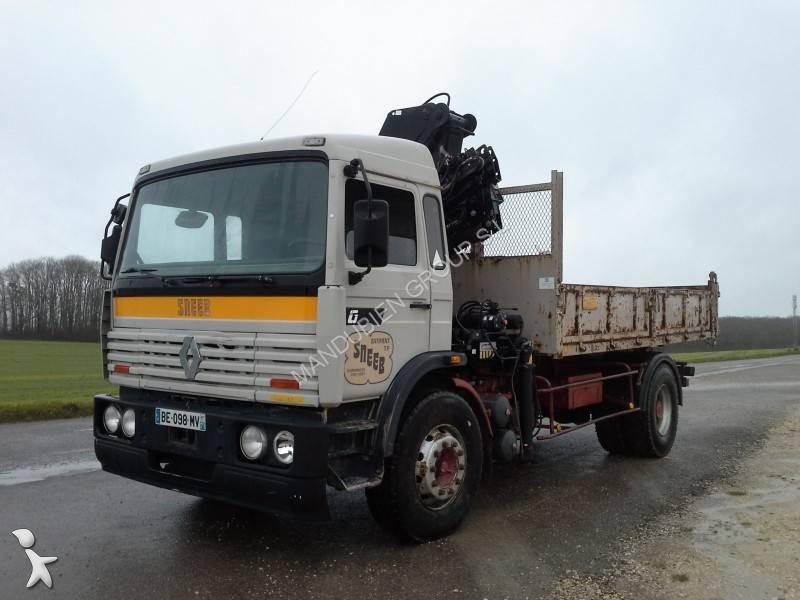 camion renault tri benne gamme g 330 4x2 gazoil euro 0 grue occasion n 1564443. Black Bedroom Furniture Sets. Home Design Ideas