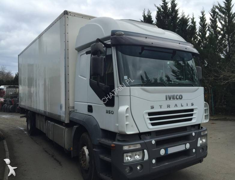 camion iveco fourgon stralis at 190 s 35 4x2 gazoil euro 3 occasion n 1581084. Black Bedroom Furniture Sets. Home Design Ideas