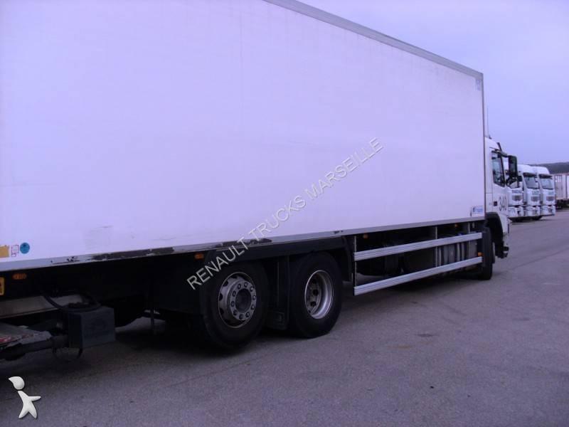 Camion volvo frigo carrier multi temp rature fm 370 6x2 - Temperature du frigo ...