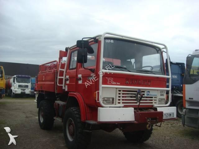 photos camion renault pompiers renault occasion 1631979. Black Bedroom Furniture Sets. Home Design Ideas