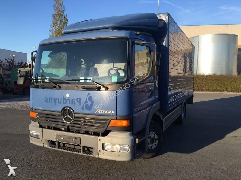 Camion mercedes furgone trasloco atego 923 4x2 gasolio euro 2 sponda usato n 1647998 - Garage mercedes nord pas de calais ...