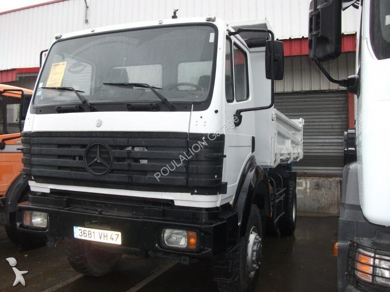 Camion mercedes bi benne ak 2031 4x4 gazoil euro 1 for Garage mercedes bonneuil sur marne