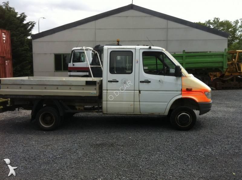 camion mercedes benne sprinter 412 d 4x4 gazoil euro 3. Black Bedroom Furniture Sets. Home Design Ideas