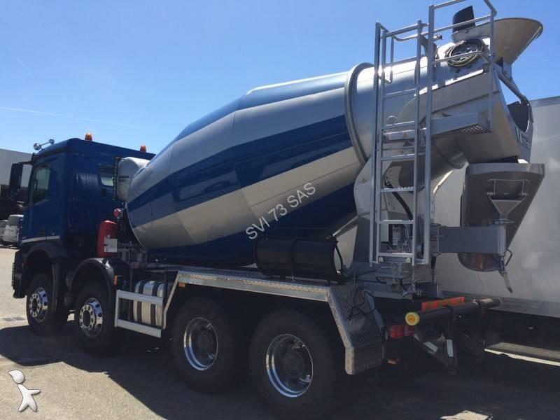 Camion mercedes b ton toupie malaxeur arocs 8x4 gazoil - Camion toupie beton ...