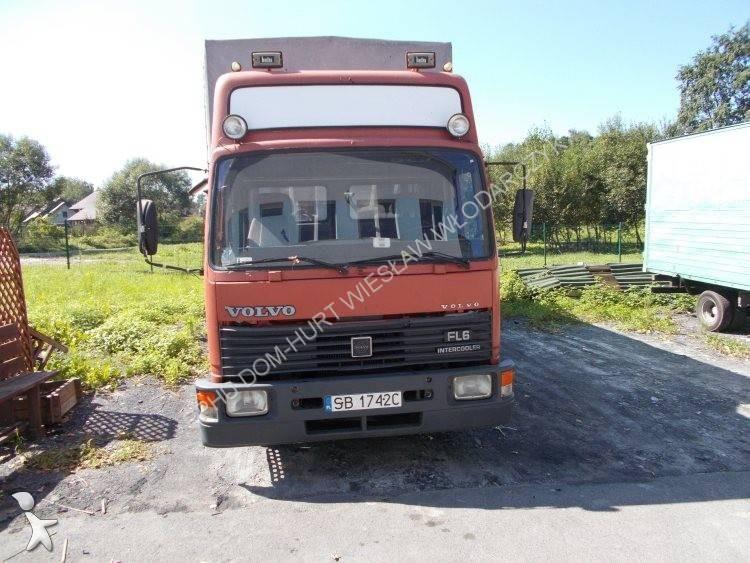 camion volvo plateau ridelles b ch fl6 14 6x2 gazoil euro. Black Bedroom Furniture Sets. Home Design Ideas