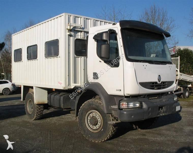 Camion Fourgon Camion Renault Fourgon Brasseur Midlum 4x2
