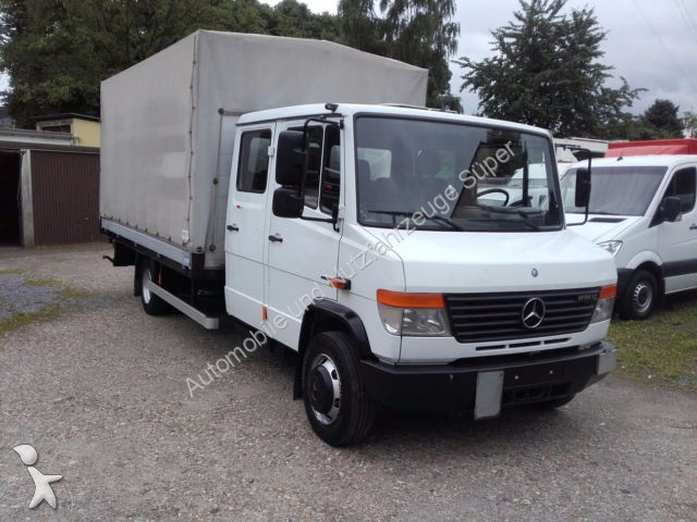 camion mercedes savoyarde 816 d vario maxi doka pritsche plane lbw ahk gazoil euro 4 occasion. Black Bedroom Furniture Sets. Home Design Ideas