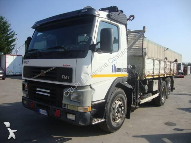 Camion volvo ribaltabile benalu trilaterale fm7 290 6x2 - Portata massima camion italia ...