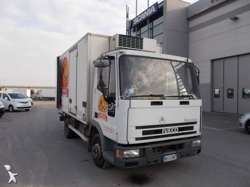 camion iveco frigo thermoking porte viandes eurocargo 75e14 4x2 gazoil euro 2 occasion n 1828739. Black Bedroom Furniture Sets. Home Design Ideas