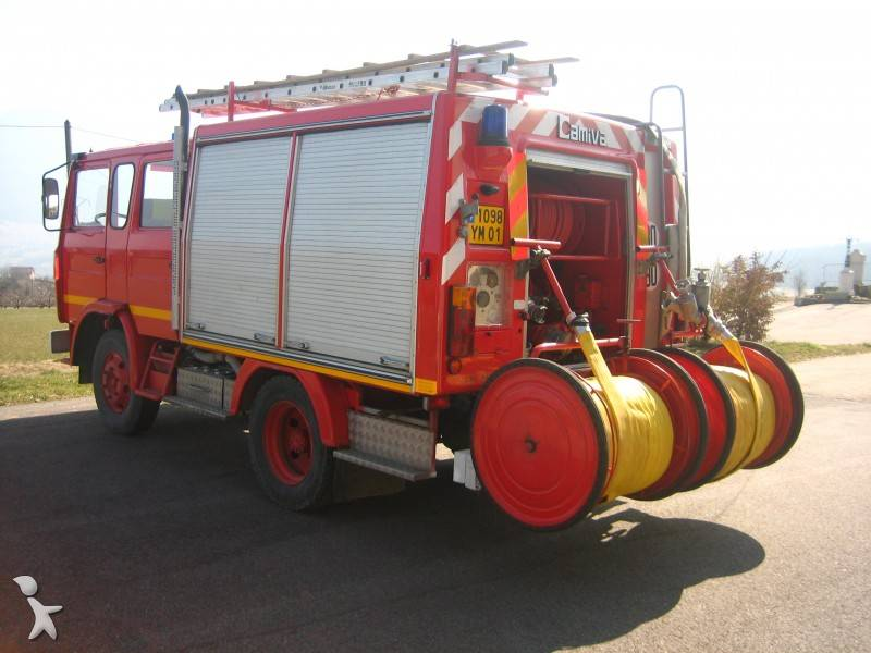 camion renault pompiers gazoil occasion n 248037. Black Bedroom Furniture Sets. Home Design Ideas
