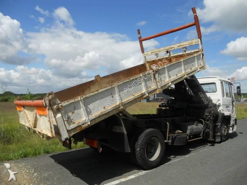 camion volvo benne marrel fl 614 4x2 gazoil grue occasion n 500164. Black Bedroom Furniture Sets. Home Design Ideas