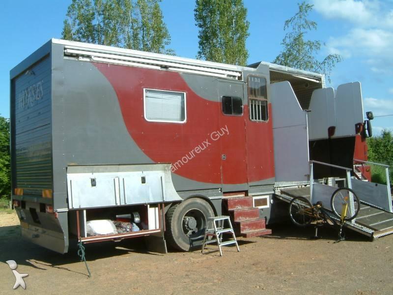 camion renault van chevaux magnum 385 4x2 gazoil euro 1 occasion n 555944. Black Bedroom Furniture Sets. Home Design Ideas