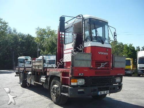 Photos camion volvo plateau plateau porte fer volvo 230 for Porte en ferraille