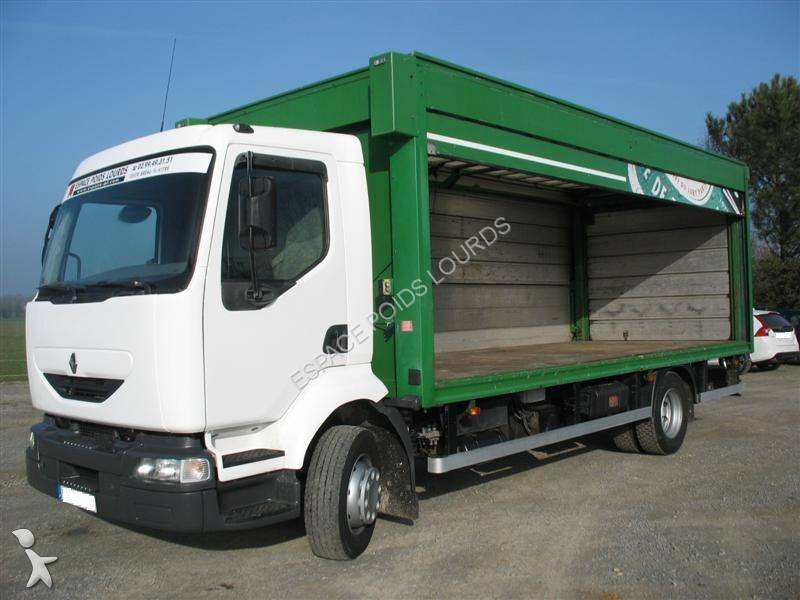camion renault fourgon brasseur midlum 4x2 hayon. Black Bedroom Furniture Sets. Home Design Ideas