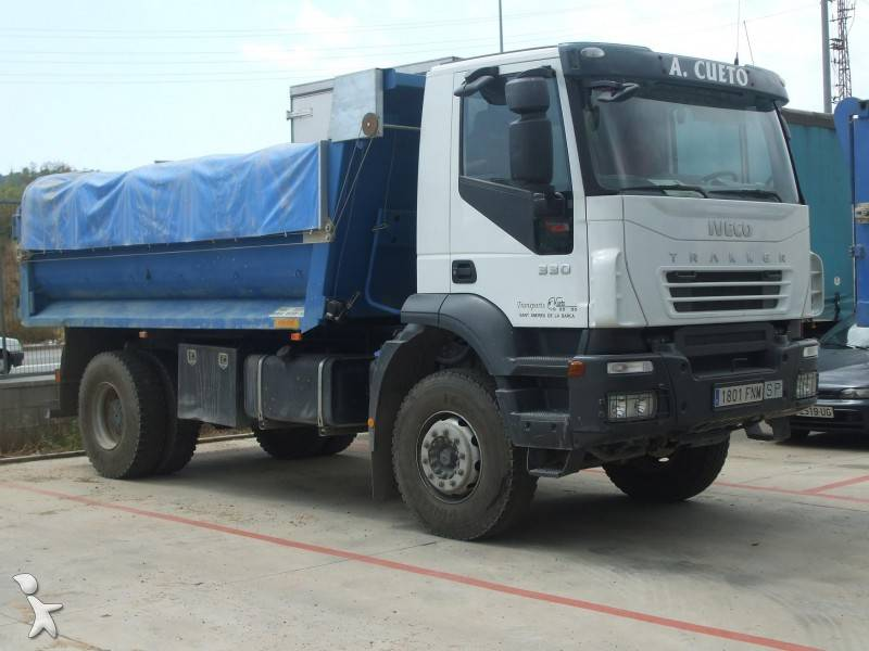 Images Iveco tipper truck, used Iveco AD 190 T 33 - 76527