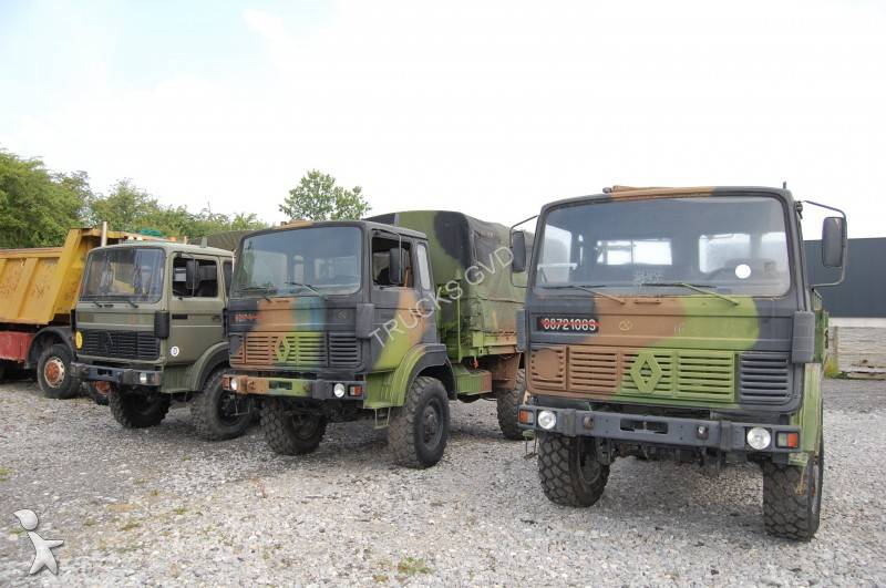 photos camion renault militaire renault 2000 occasion 804083. Black Bedroom Furniture Sets. Home Design Ideas