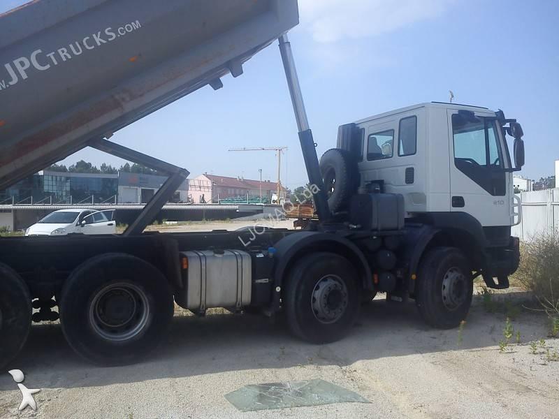 Used Iveco Trakker tipper truck AD 340 T 41 8x4 Euro 4 - n