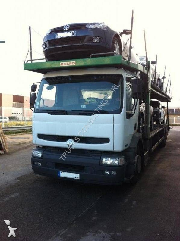 photos camion renault porte voitures renault dci. Black Bedroom Furniture Sets. Home Design Ideas