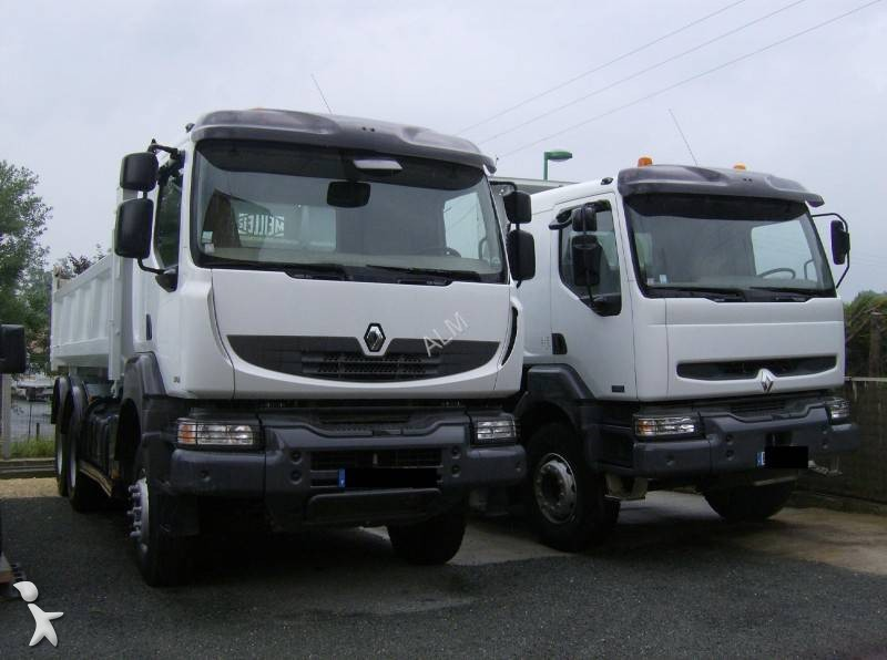 camion bi benne occasion renault kerax 6x4 marrel. Black Bedroom Furniture Sets. Home Design Ideas