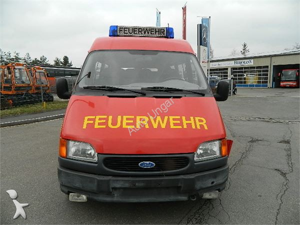 camion pompiers occasion ford nc transit elf 9 sitze feuerwehr mzf diesel annonce n 958714. Black Bedroom Furniture Sets. Home Design Ideas