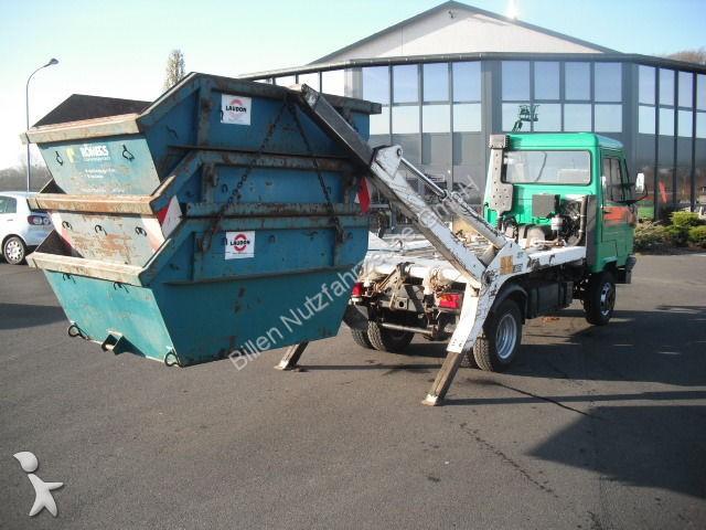 camion multicar benne m 26 whl 55 absetzer 3 container wechselsyst gazoil occasion n 966656. Black Bedroom Furniture Sets. Home Design Ideas