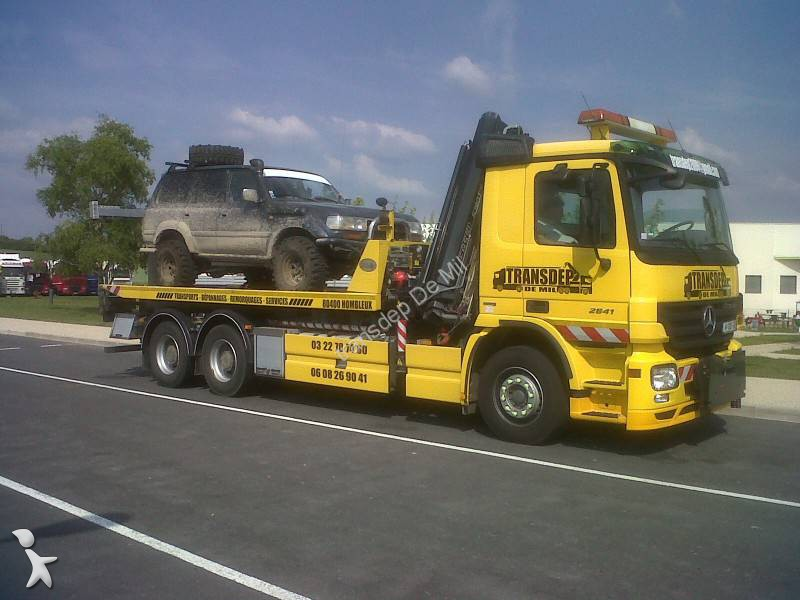 camion mercedes d pannage actros 2641 6x4 gazoil euro 5. Black Bedroom Furniture Sets. Home Design Ideas